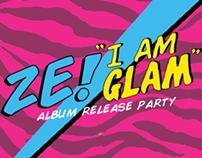 I AM GLAM Flyer Design
