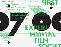 Experimental Film Society Posters/DVD covers