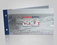 American Airlines Celebrity Golf Brochure
