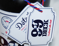 99Deck Beer packaging