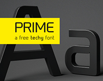 Prime free font