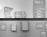 AIGA MN Sustainable Design Committee Wall Display