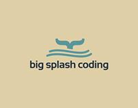 Big Splash Coding - Logo Design