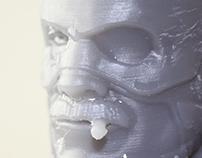 CAPTAIN AMERICA SENIOR BUST - 3D PRINT