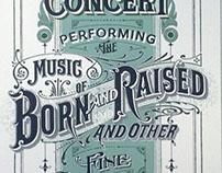 Poster John Mayer Concert 2013