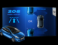 Ação -  Peugeot 208 Park Assist
