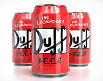 3D Duff Beer Can