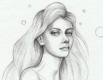 Portraits Sketches 2014