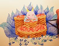 illustration book 3 《奔跑的植物》果子象