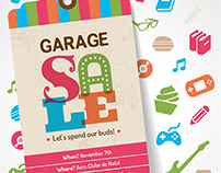 Cartaz Garage Sale - Opendoors
