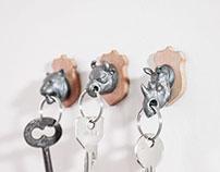 Animal Key Holders