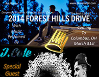 Forest Hills Drive Tour Poster Design Columbus,Ohio