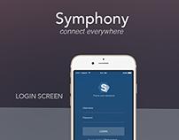SYMPHONY App Desgin