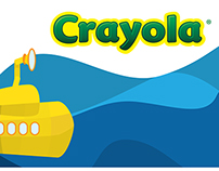 Packaging Design For Special Edition Crayola Crayons