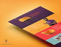 Carpatica One Page HTML5 Template