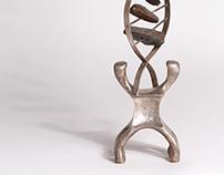 DNA sculpture