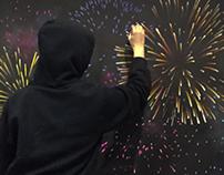 Rainer Maria Rilke Chalkboard