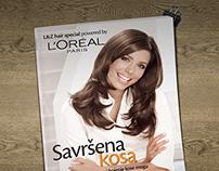 booklet for L'Oréal Paris