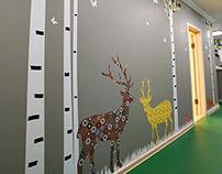 Wall decor kindergarten