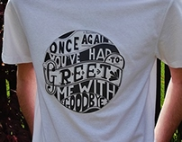 Typography Tshirt Project