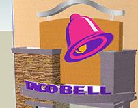 Taco Bell CityWalk SketchUp model