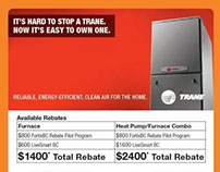 Full Page Home Depot/Trane for the Province Newspaper