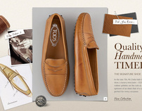 TODS Ecommerce Site (pitch)