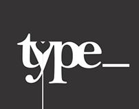 Typography : Explorations