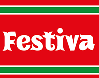 Festiva, free font