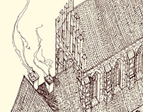 Cistercian monastery reconstruction in Cedynia
