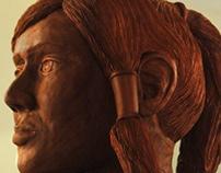 Realistic clay Korra