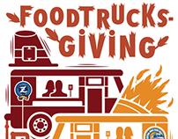 Foodtrucksgiving Poster