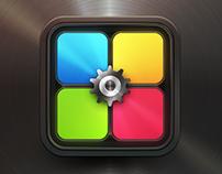 App Icon Design - Rotix Game