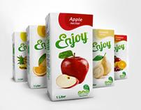Enjoy Rebranding & Juice Packaging