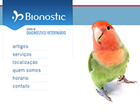 Bionostic - Web site layout preview