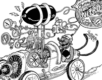 Nitro Engine Car / CP
