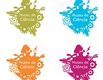 Logotipo para exposição fictício