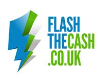 Flashthecash logo & layout ideas
