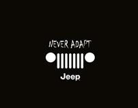 "Jeep ""UNEVEN ROAD"""