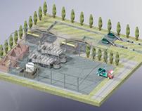 treatment plant effluent