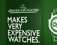 Jaeger LeCoultre nigth-vision poster