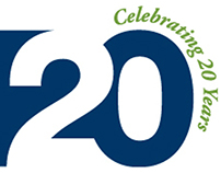 Financial Consulting Firm 20 Year Logo