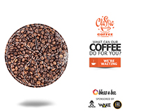 Classic Coffee Ad Banner