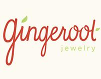 Gingeroot Jewelry Branding