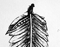 Feather of feathers