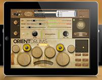 Orient Drums - Mobile Device App