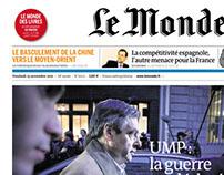 « Le Monde » Front Page