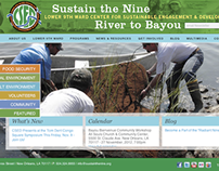 CSED Website: Sustain the Nine, River to Bayou