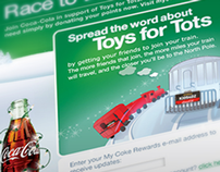 Coca-Cola Toys for Tots Facebook app