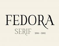 Font family - FEDORA Serif